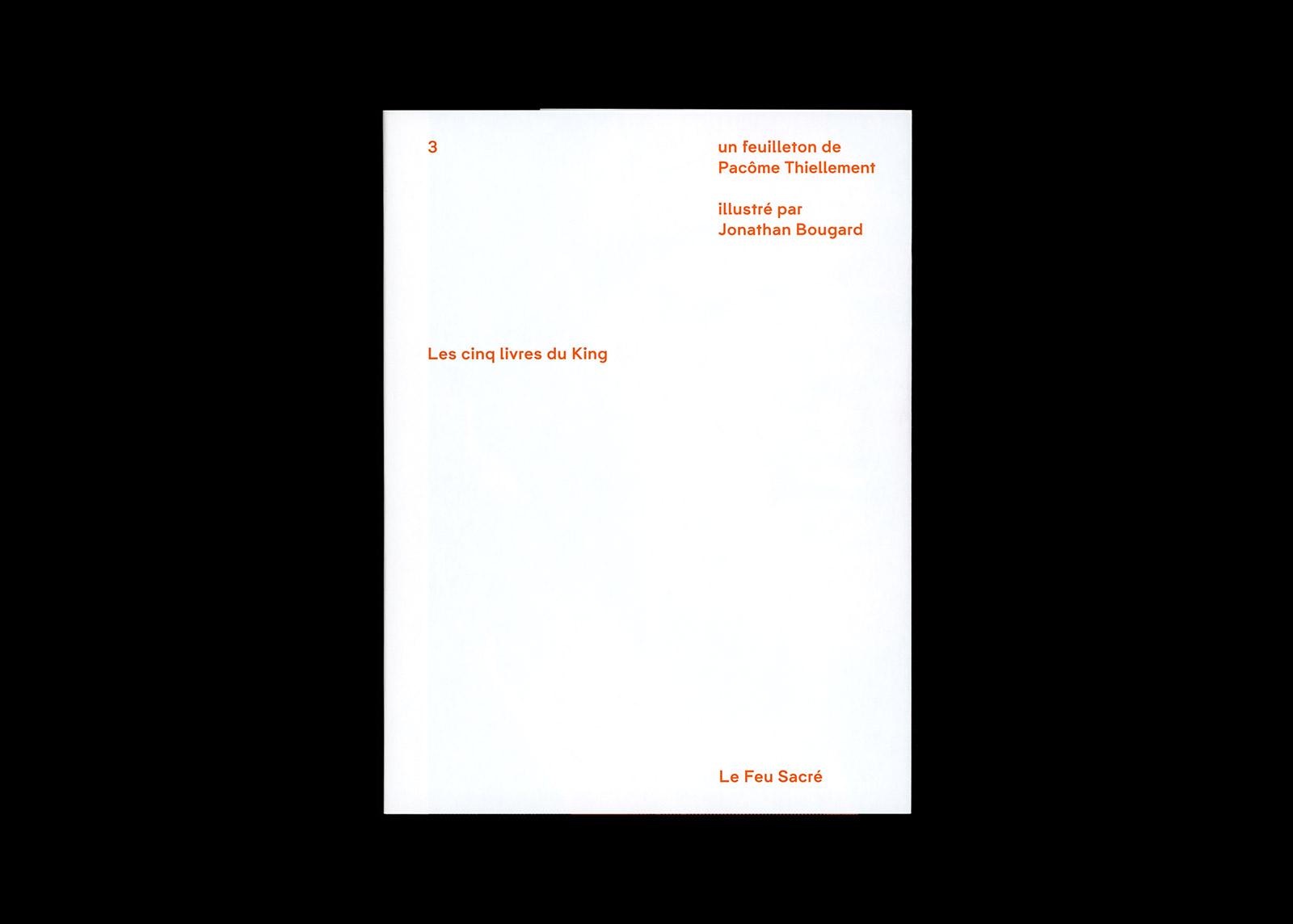 Les cinq livres du King 01